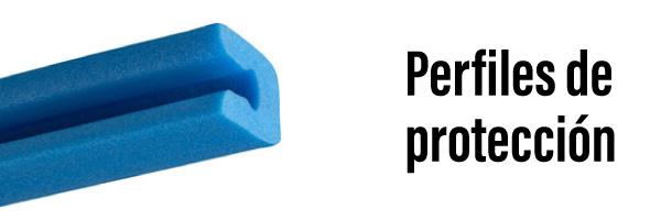 Perfiles de proteccion de corcho para embalaje