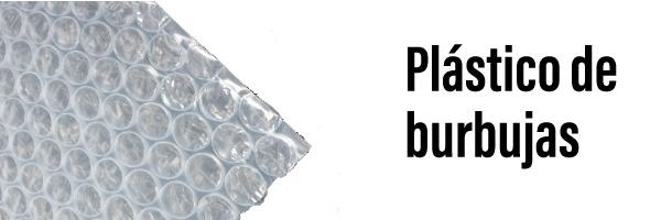 Embalaje con plastico de burbujas